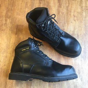 """Brahma Men's Gus Steel Toe 6"""" Work Boots"""